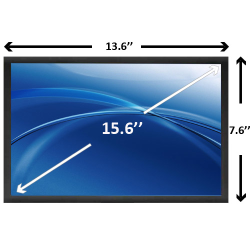 display 15.6 slim full hd